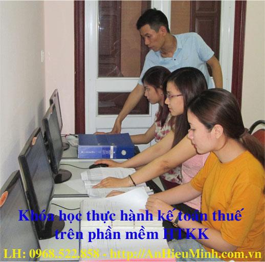 Khóa học thực hành kế toán Thuế trên phần mềm HTKK
